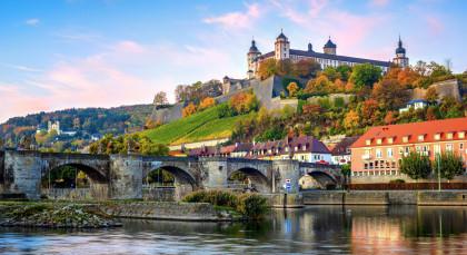 Destination Wurzburg in Germany