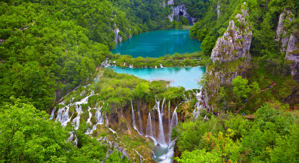 Destination Plitvice Lakes in Croatia & Slovenia