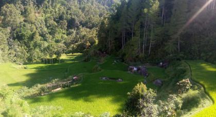 Destination Kapala Pitu Village in Indonesia