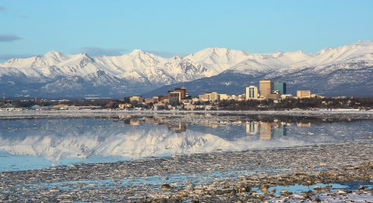 Destination Anchorage in Alaska