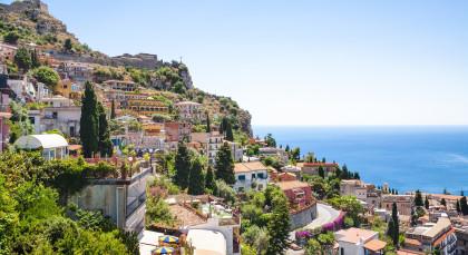 Taormina in Italien