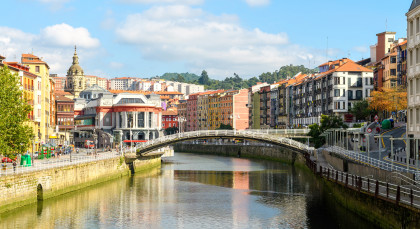 Destination Bilbao in Spain