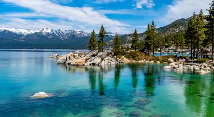 Lake Tahoe in USA