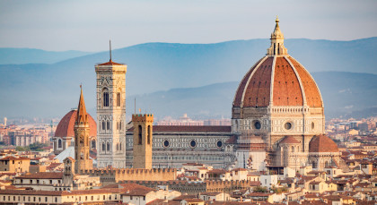 Destination Florence in Italy