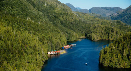 Destination Nimmo Bay in Canada