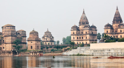 Orchha in Nordindien