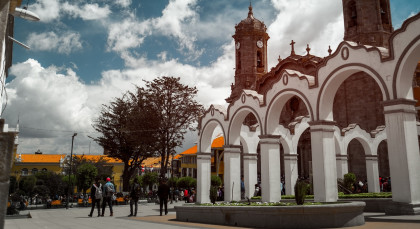 Destination Potosi in Bolivia