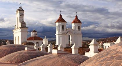 Destination Sucre in Bolivia