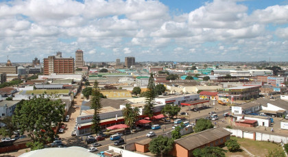 Lusaka in Sambia