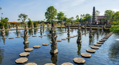 Bali, Candi Dasa in Indonesien
