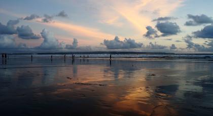 Bali, Seminyak in Indonesien