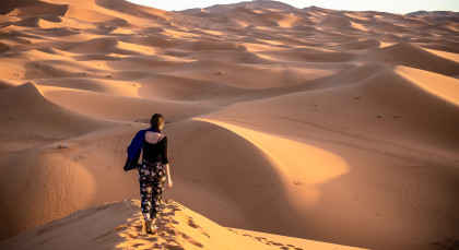 Destination Merzouga in Morocco