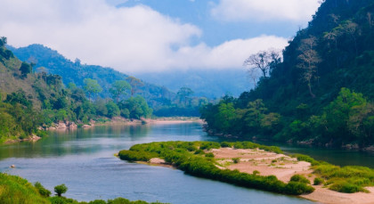Nong Khiaw in Laos