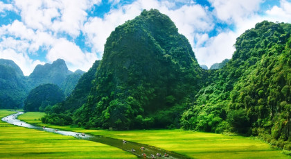 Destination Ninh Binh in Vietnam