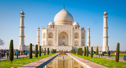Destination Agra in North India