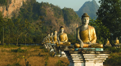 Hpa An in Myanmar