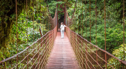 Destination Monteverde in Costa Rica