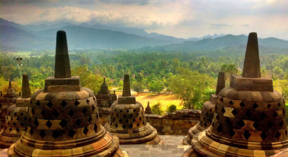 Destination Borobudur in Indonesia