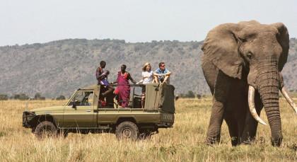 Meru Nationalpark in Kenia