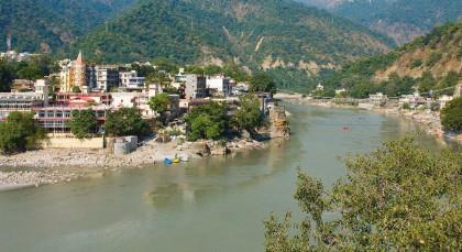 Rishikesh in Himalaja