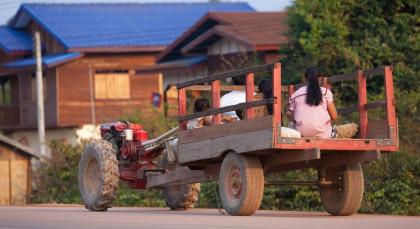 Thakek in Laos