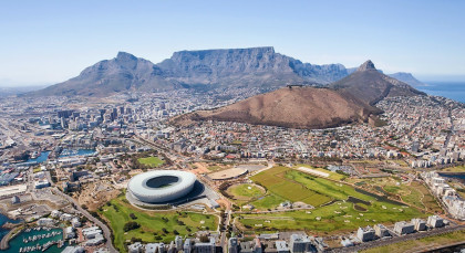 Destination Cape Town in South Africa
