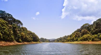 Thekkady in Südindien
