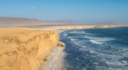 Destination Paracas in Peru