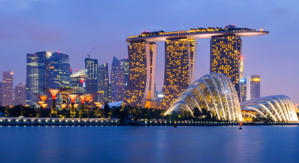 Destination Singapore City in Singapore