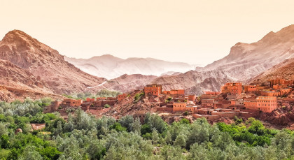 Destination High Atlas Mountains in Morocco