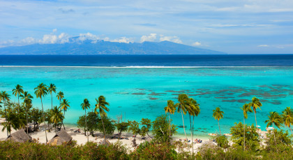 Moorea in Französisch Polynesien