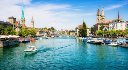 Destination Zürich in Switzerland