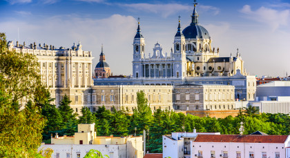 Destination Madrid in Spain