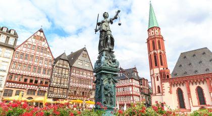 Destination Frankfurt in Germany