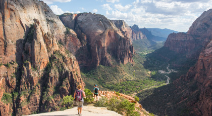 Destination Zion National Park in USA