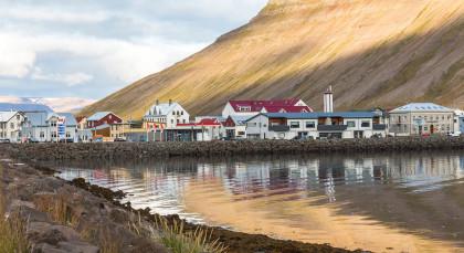 Isafjordur in Island