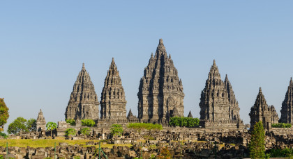 Java,Yogyakarta in Indonesien