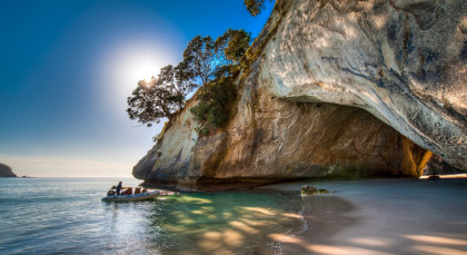 Destination Coromandel Peninsula in New Zealand