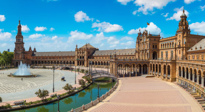 Destination Seville in Spain