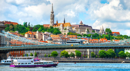 Destination Budapest in European Cities