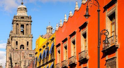 Destination Mexico City in Mexico
