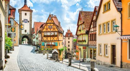 Destination Rothenburg ob der Tauber in Germany