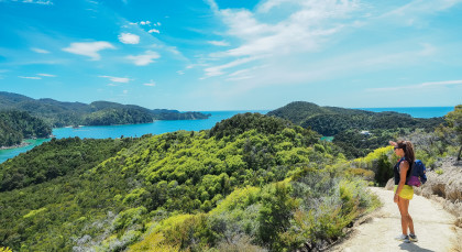 Destination Abel Tasman National Park in New Zealand