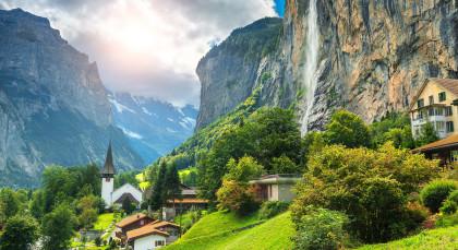 Destination Interlaken in Switzerland