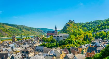 Destination Oberwesel in Germany