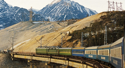 Destination Trans-Siberian Train in Russia