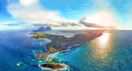 Destination Lord Howe Island in Australia