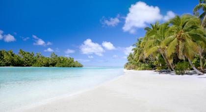 Aitutaki in Cook Inseln