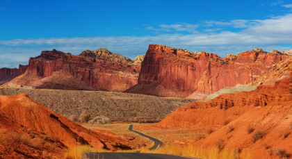 Destination Capitol Reef National Park in USA