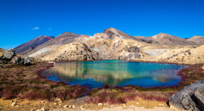 Destination Tongariro National Park in New Zealand